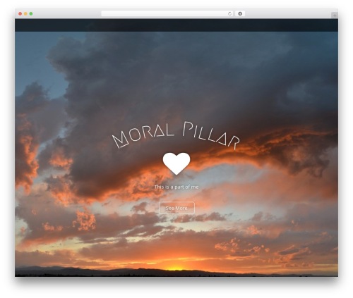 Arcade Basic best free WordPress theme - moralpillar.com