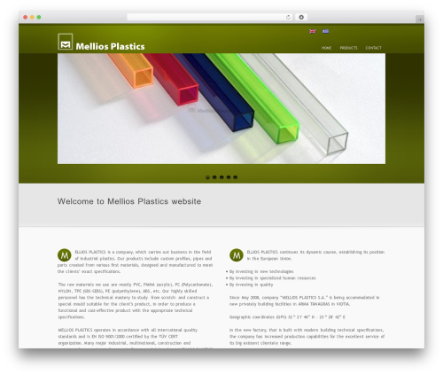 inFocus WordPress template for business - mellios.gr