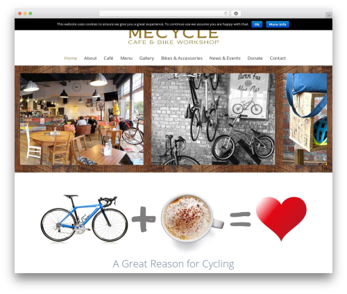 The7.2 theme WordPress - mecycle.co.uk
