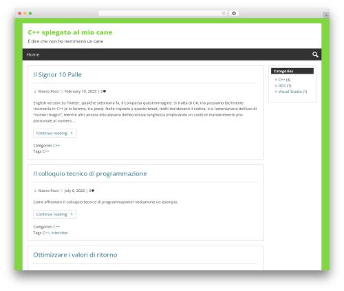 Free WordPress Enlighter – Customizable Syntax Highlighter plugin - marcofoco.it