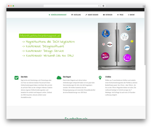 Theme WordPress Subway - meinkuehlschrankmagnet.at
