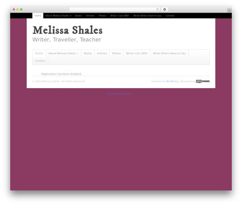 Free WordPress Cookies for Comments plugin - melissashales.com/wp-signup.php?new=zeropercentproof
