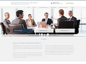 WP theme Insurance Broker 3 - V8