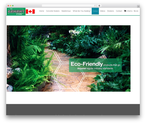 AccessPress Staple Pro WordPress store theme - cementstore.ca