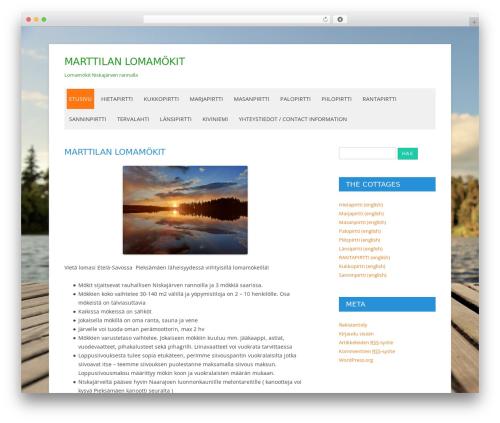 Nettisivu Sininen WP template - marttilanlomamokit.nettisivu.org