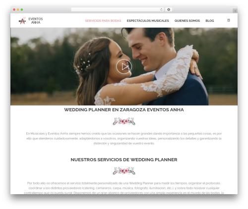 OneLove WordPress wedding theme - musicalesyeventosanha.com