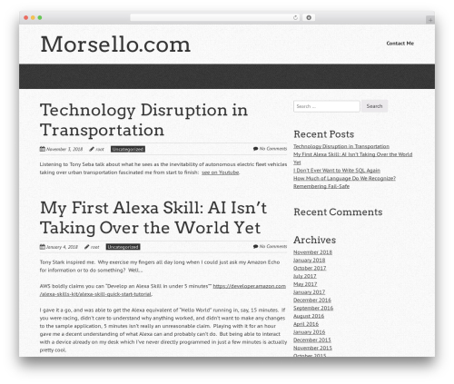 Free WordPress Book Review plugin - morsello.com