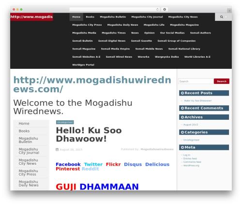 SmartAdapt best WordPress magazine theme - mogadishuwirednews.com