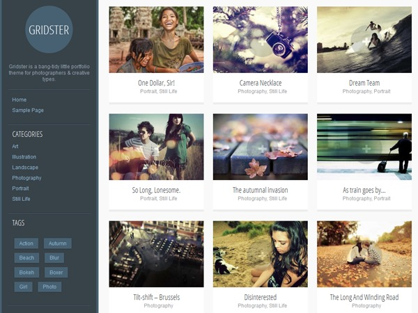Theme WordPress Mode Professionnelle