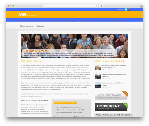 Theme WordPress Modular - mkb-in-zuidholland.nl