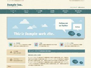WordPress website template cloudtpl_147