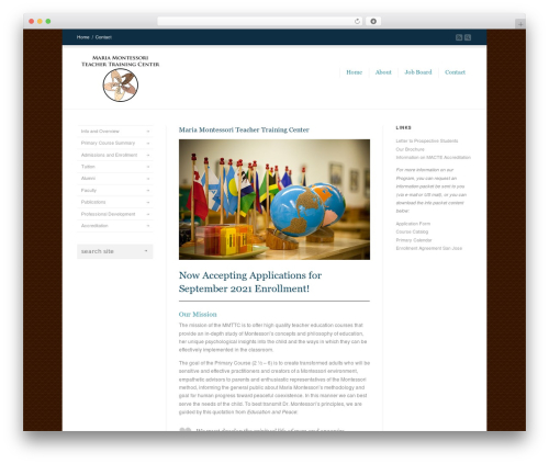 Best WordPress theme Corona - mmttc.org