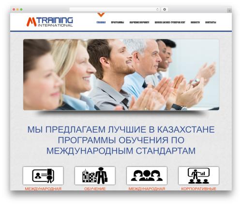 D5 Business Line WordPress theme free download - m-training.kz