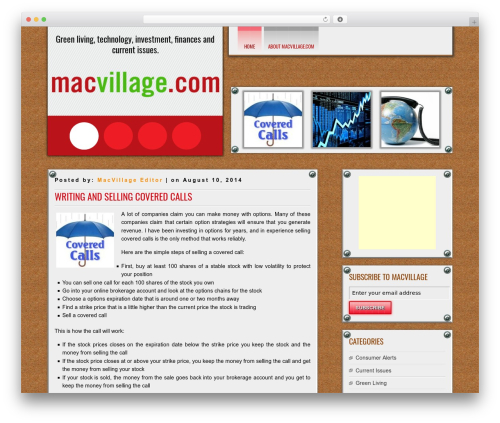 DISCUSSION theme free download - macvillage.com