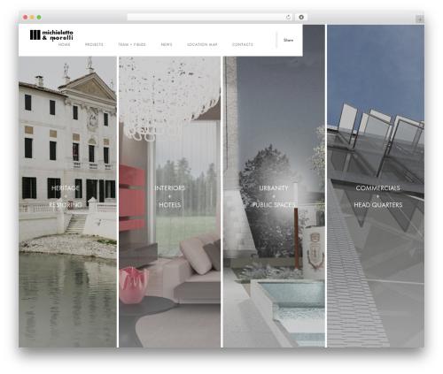 Template WordPress Domik - michieletto.it