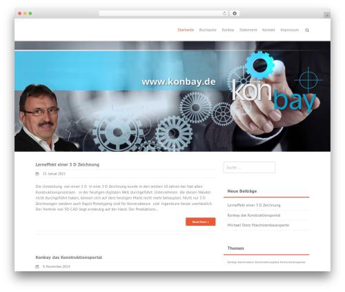 THBusiness theme WordPress - michaelstorz.com
