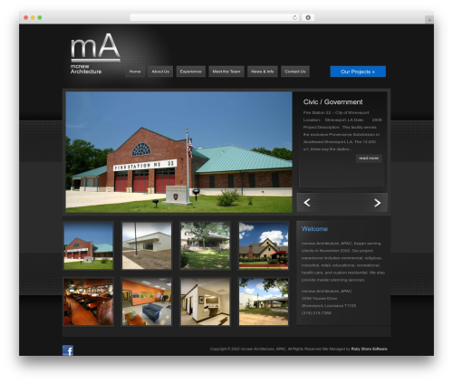 Theme WordPress ePhoto - mcnewarchitecture.com