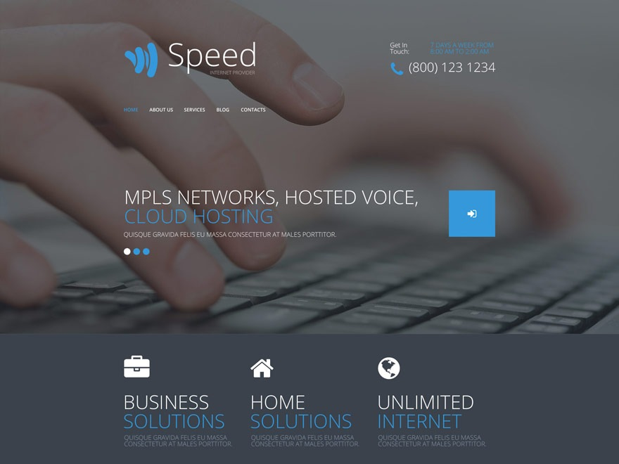 theme54577 WordPress page template