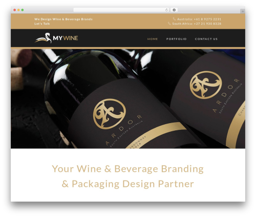 Free WordPress Projects by WooThemes plugin - mywine.com.au