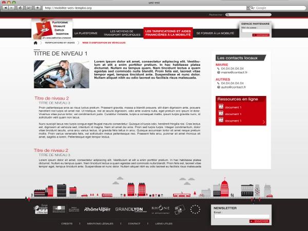 WordPress theme UniEst by Marco