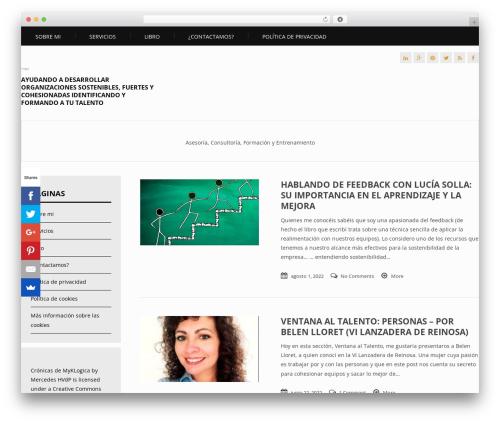 WordPress website template Apprise - myklogica.es