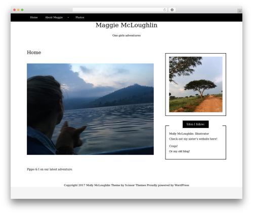 Writee WordPress theme - maggiemcloughlin.com