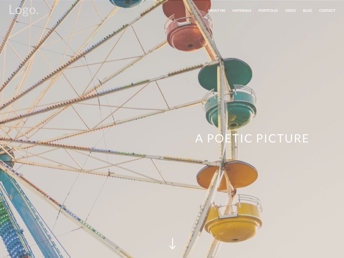 Divi photography WordPress gallery theme