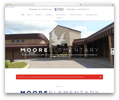 Divi top WordPress theme - mooreelementary.fssd.org
