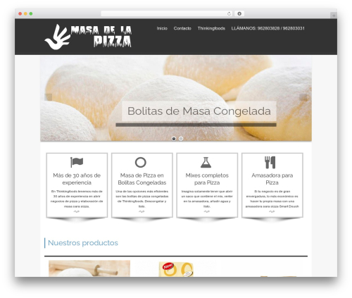 isis best free WordPress theme - masadelapizza.com