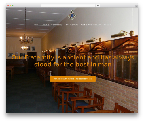 Sydney free WordPress theme - masoniclodges.co.za
