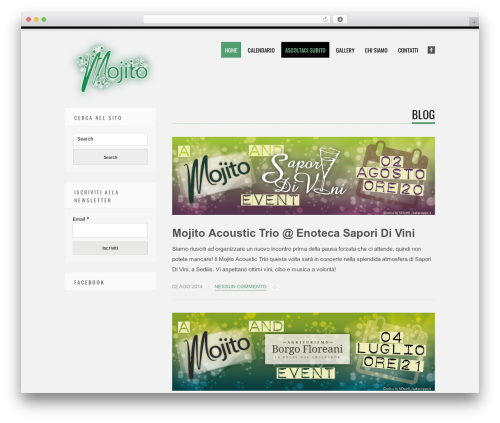 Tesla free WordPress theme - mojitotrio.katiacoppo.it