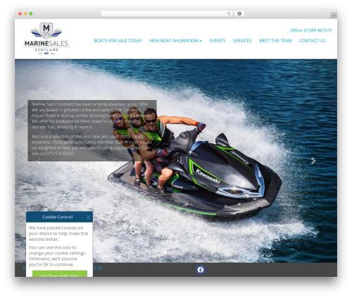 Theme Essential Elite WordPress theme - marinesalesscotland.com