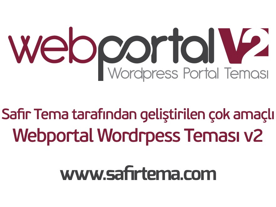 WordPress theme Webportal Wordpress Teması v2 by Safir Tema