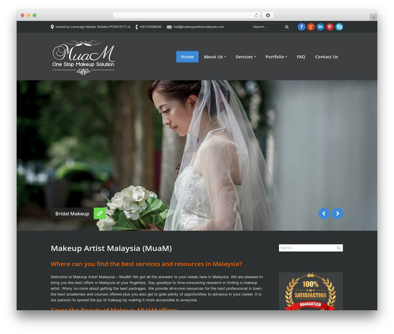 WordPress Website Template PurePress