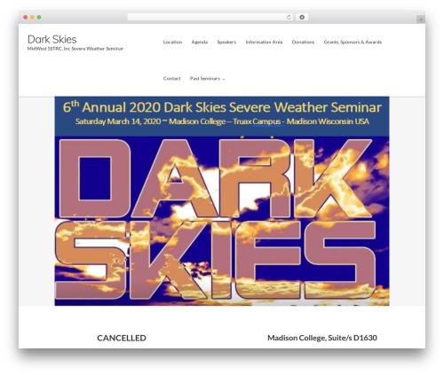 WP theme Ultra Premium - midwestdarksky.com
