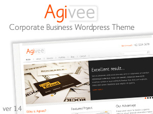 Agivee company WordPress theme