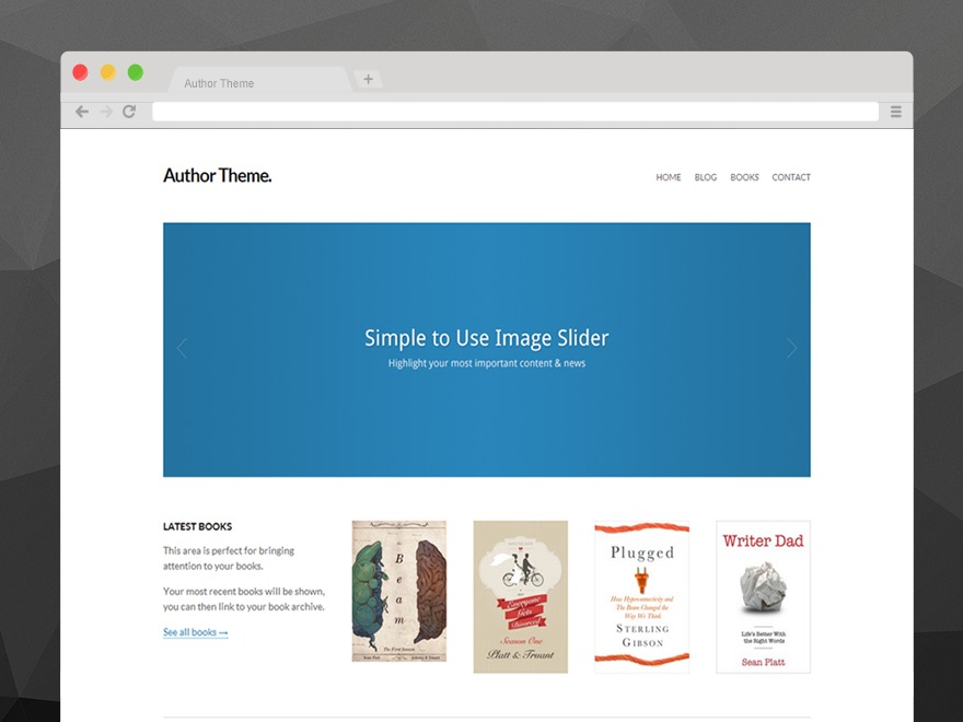 Author by Original Themes theme WordPress