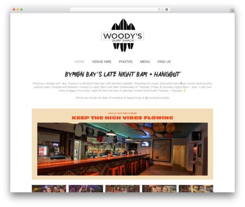 Avada WordPress template - woodysbyronbay.com