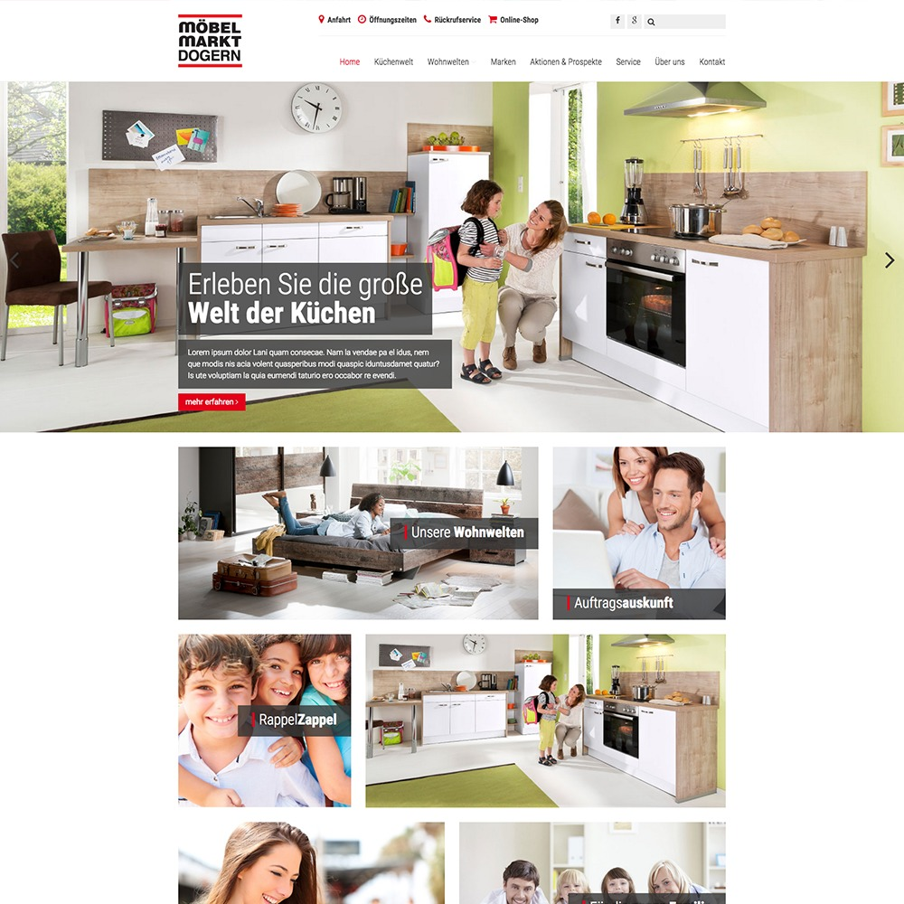 Best Wordpress Template Möbelmarkt Dogern Webseite 082015 By