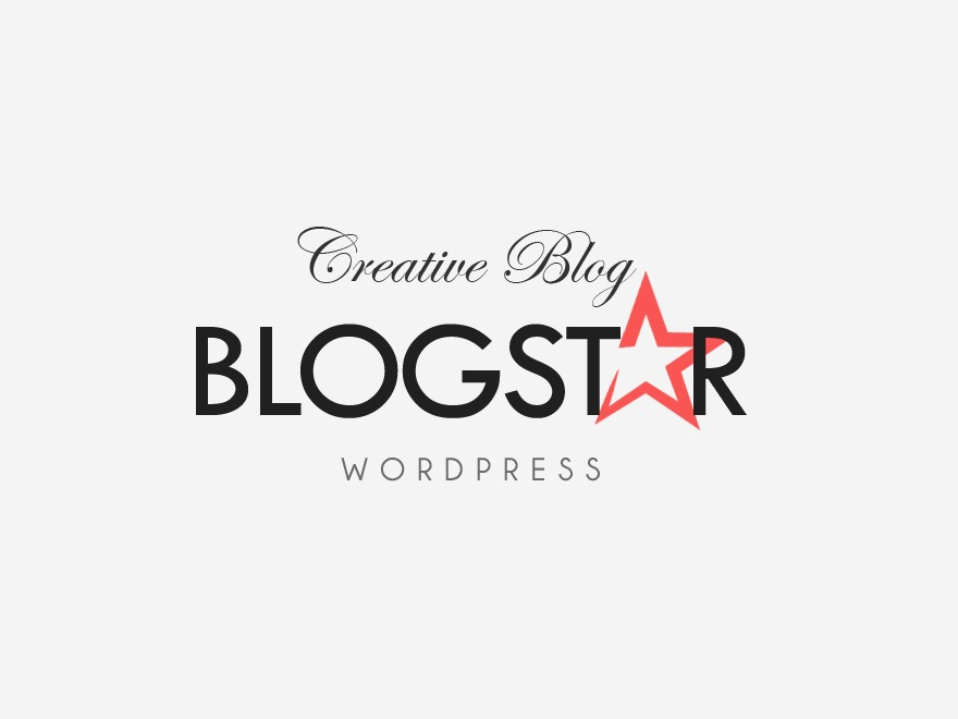 BlogStar WordPress blog template