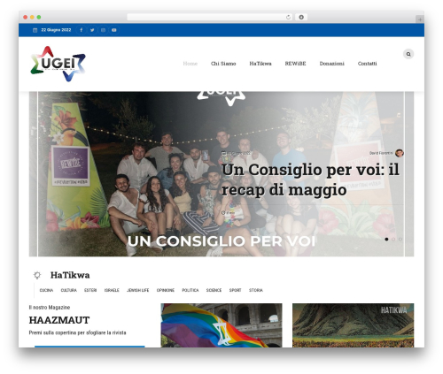 Bold News WordPress theme - ugei.it