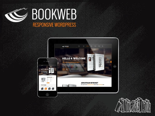 Bookish Theme WordPress template
