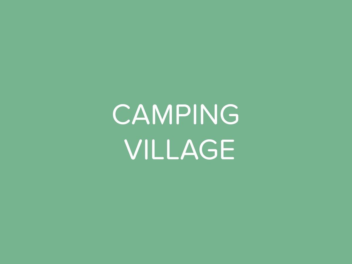 CampingVillage WordPress theme design