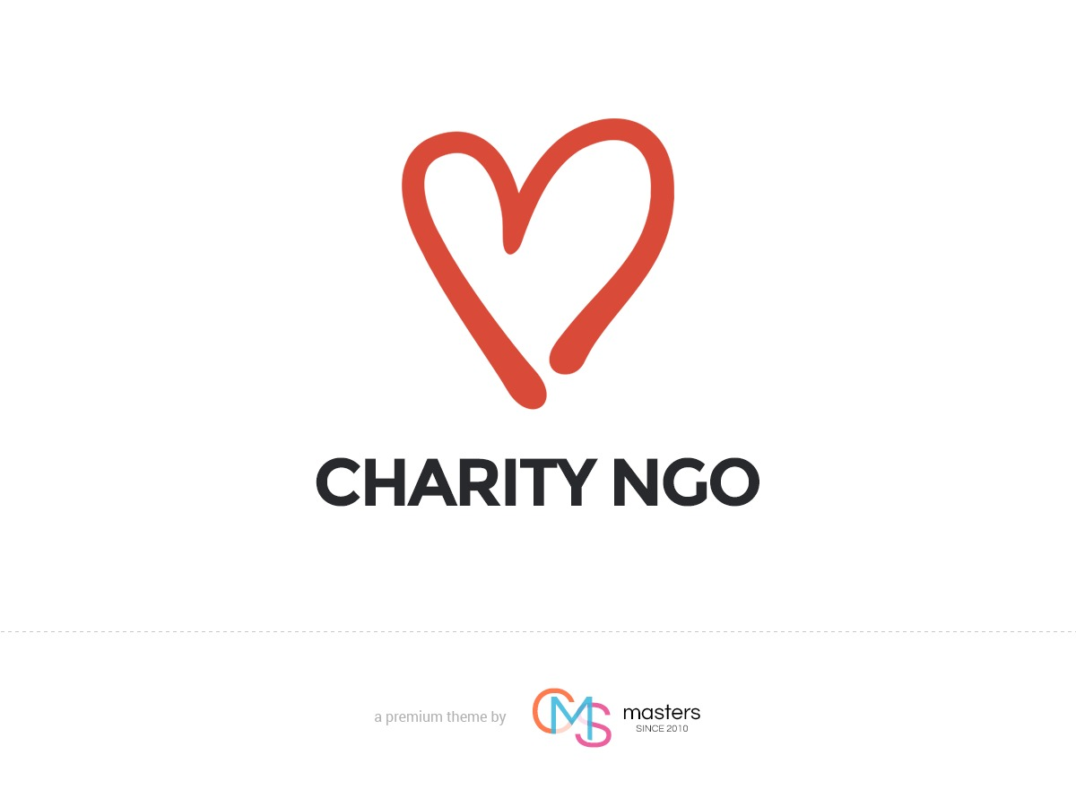 Charity NGO WordPress portfolio template
