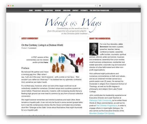 Delicate News best WordPress magazine theme - wordsnways.com