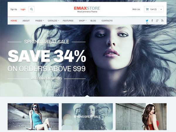 eMaxStore by MyThemeShop WordPress ecommerce template