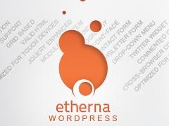 Etherna WP 1.2a best portfolio WordPress theme