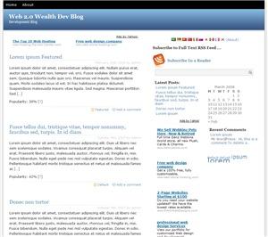 Expert WordPress WordPress page template