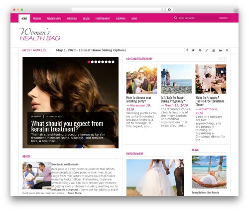 FastNews WordPress news template - womenshealthbag.com