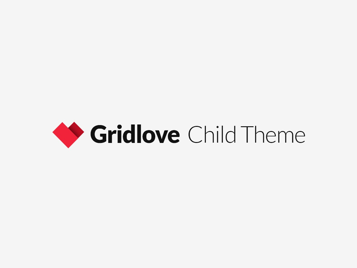 Gridlove Child WP template